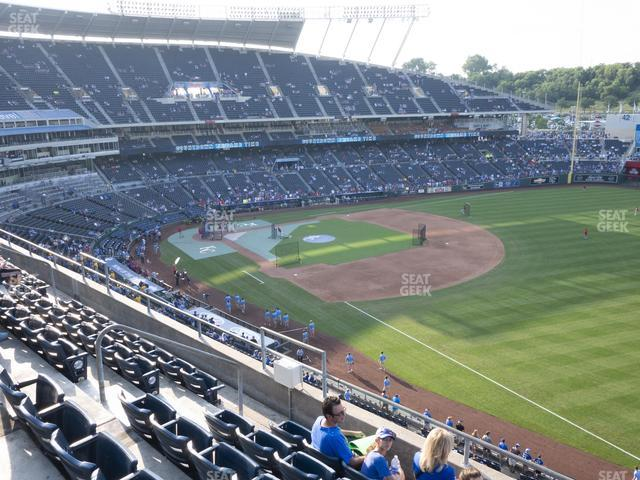 Kauffman Stadium Section 437 view