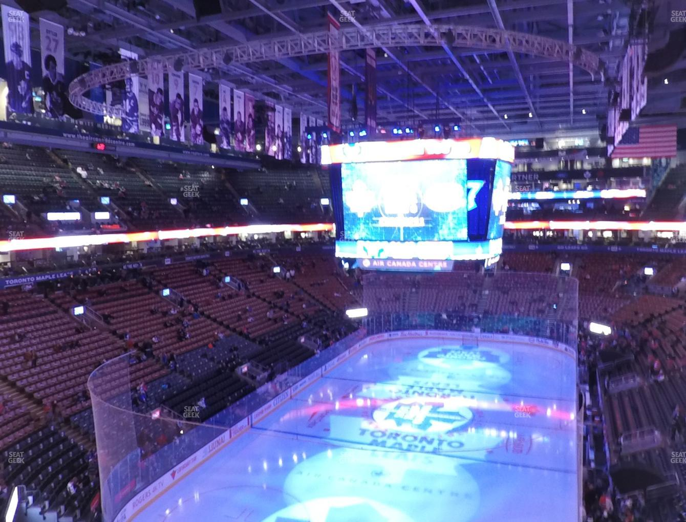 Toronto Maple Leafs at Scotiabank Arena Section 302 View