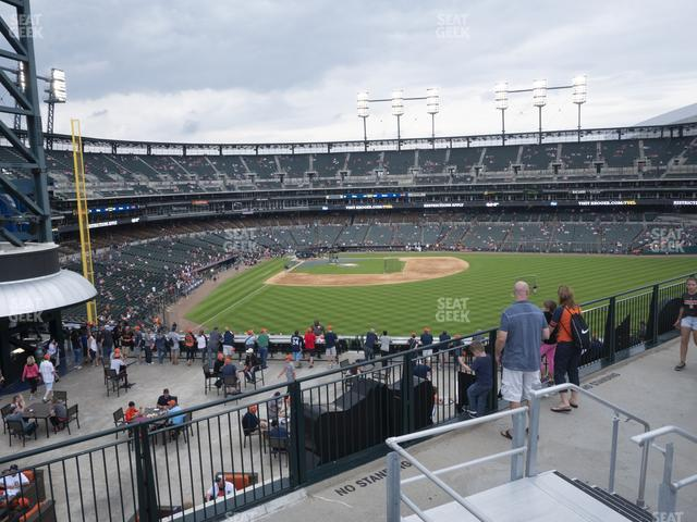 Comerica Park Jungle Bleachers C view