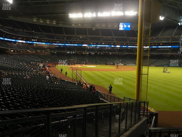 Minute Maid Park Section 150 view