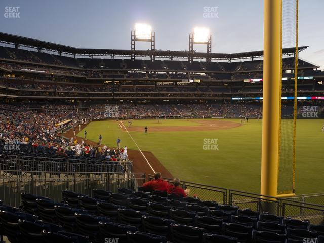 Citizens Bank Park Section 107 view