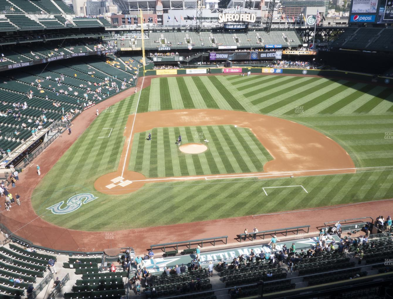 Seattle Mariners at T-Mobile Park Section 325 View