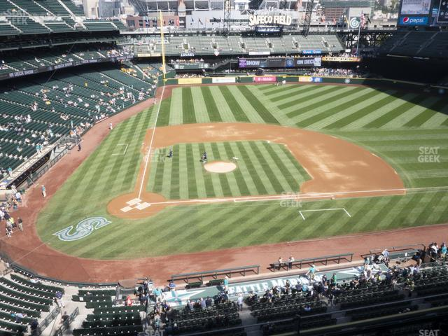 T-Mobile Park Section 325 view