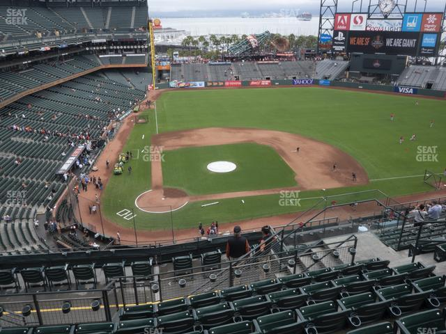 Oracle Park Section 311 view