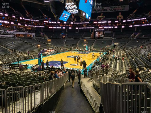 Spectrum Center Section 108 view