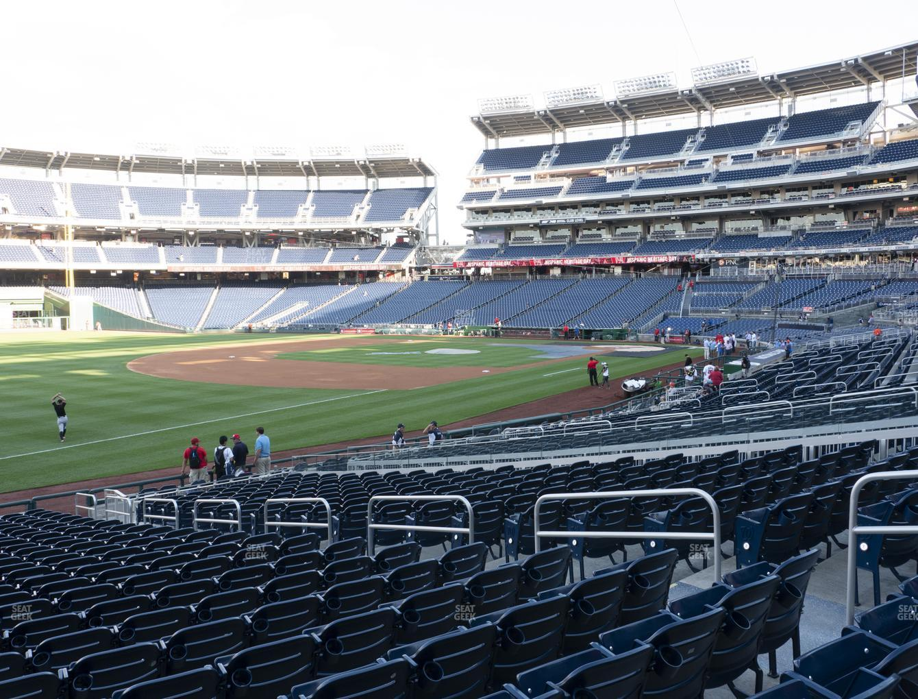 Nationals Park Section 111 Seat Views Seatgeek