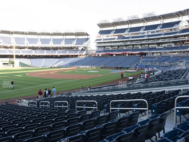 Nationals Park Section 111 view