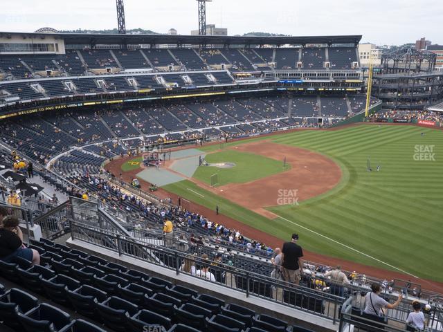 PNC Park Section 305 view