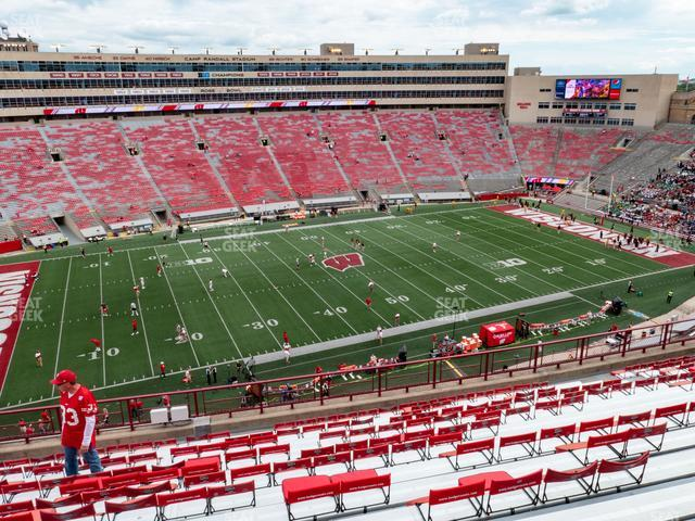 Camp Randall Stadium Section HH view