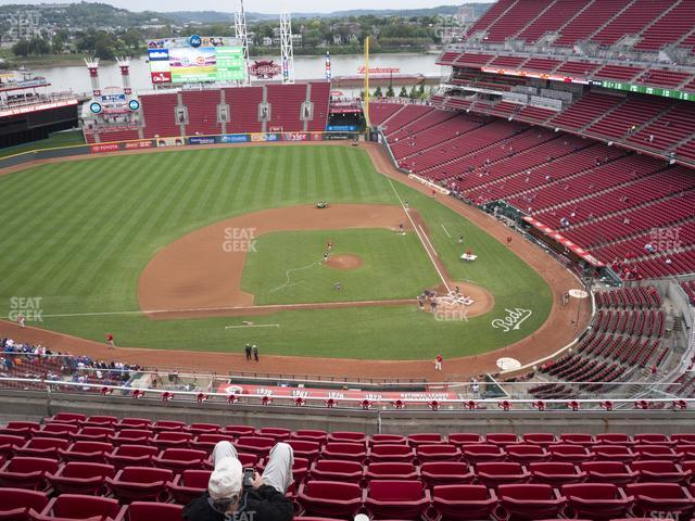 Great American Ball Park Section 518 view
