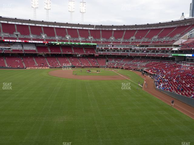 Great American Ball Park Section 404 view