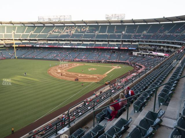 Angel Stadium of Anaheim Section 406 view
