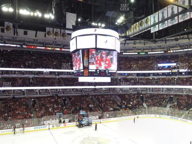 United Center Section 219 view