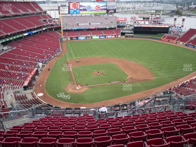 Great American Ball Park Section 527 view