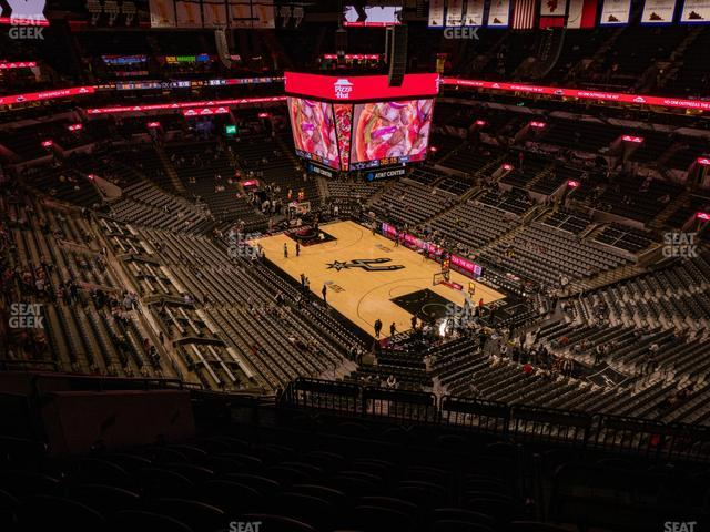 AT&T Center Section 219 view