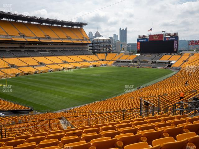 Heinz Field Section 228 view