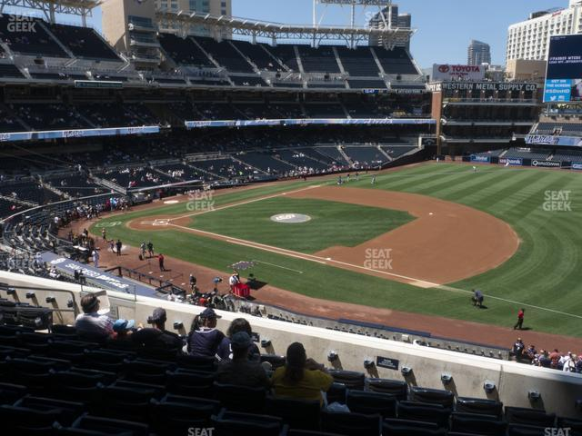 Petco Park Section 213 view