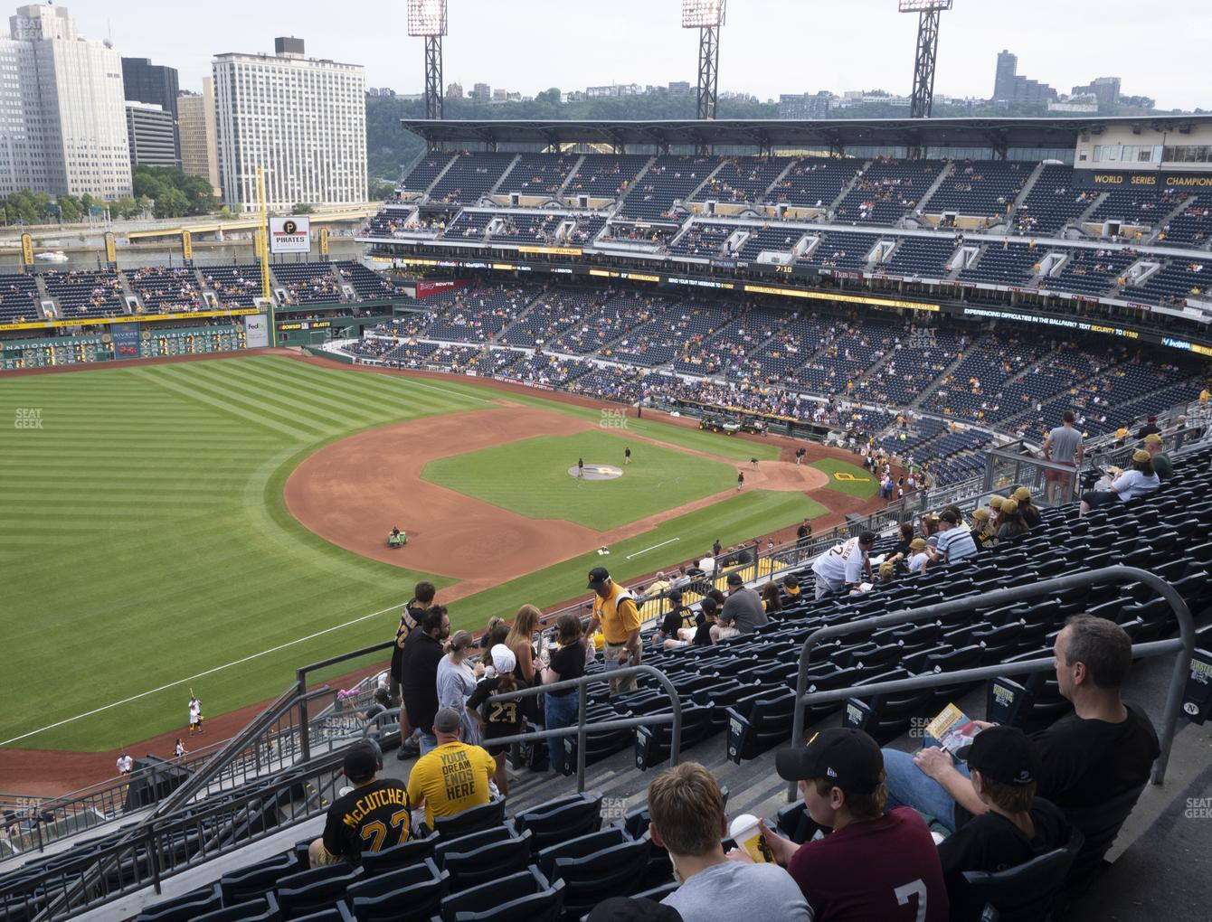 Pittsburgh Pirates at PNC Park Section 329 View