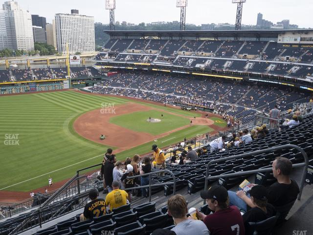 PNC Park Section 329 view