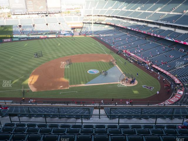 Angel Stadium of Anaheim Section 514 view