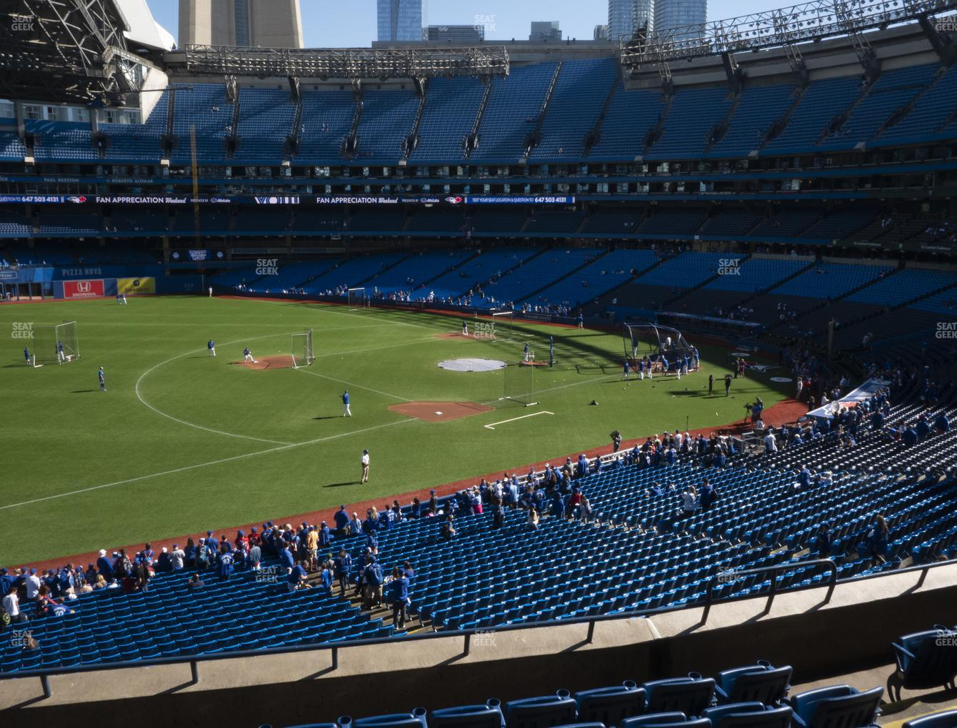 Toronto Blue Jays at Rogers Centre Section 234 R View