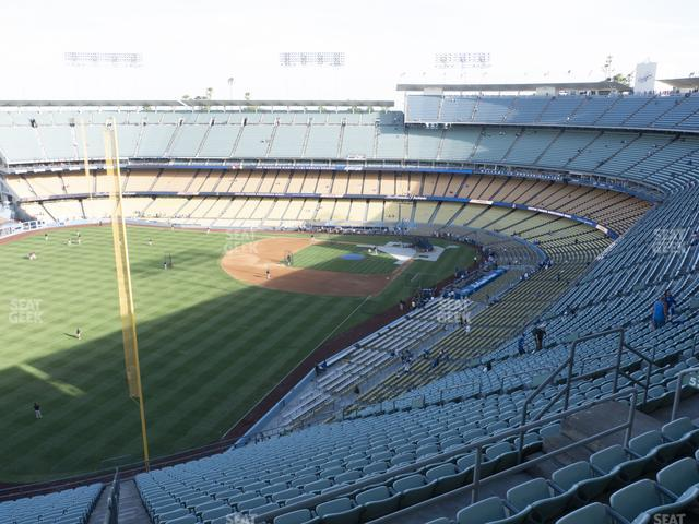 Dodger Stadium Reserve 53 view