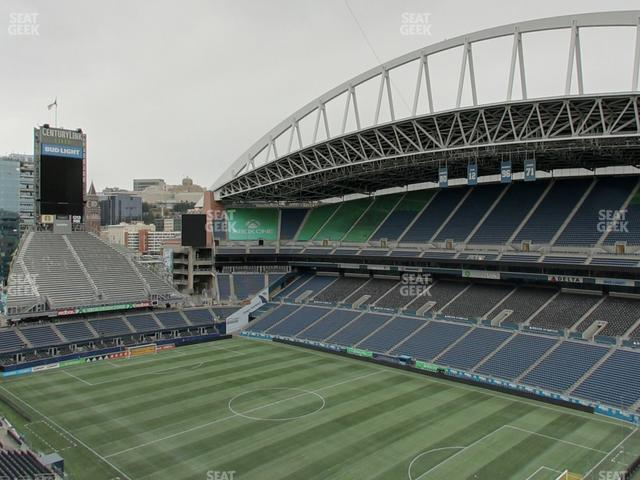 CenturyLink Field Upper 328 view