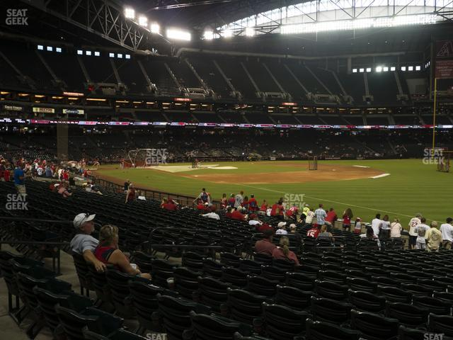 Chase Field Section 112 view