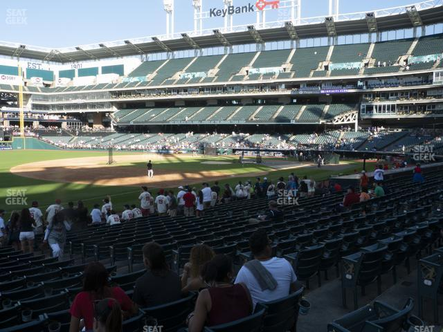 Progressive Field Section 170 view