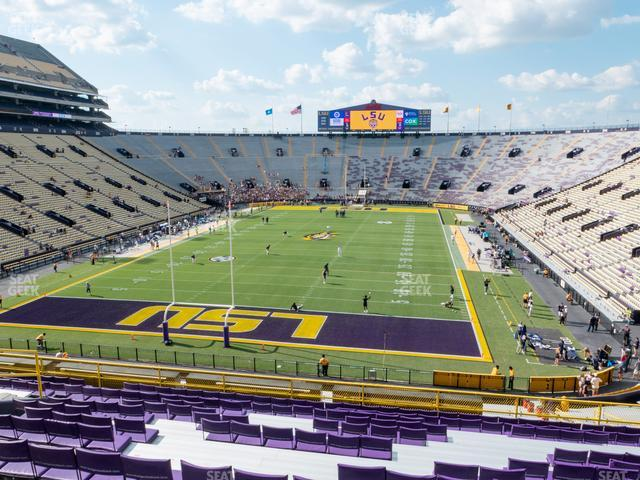 LSU Tiger Stadium Section 416 view