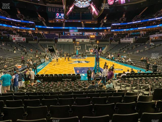 Spectrum Center Section 101 view