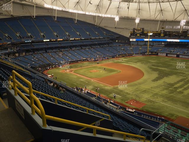 Tropicana Field Section 322 view