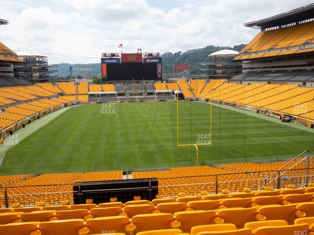 Heinz Field Section 221 view