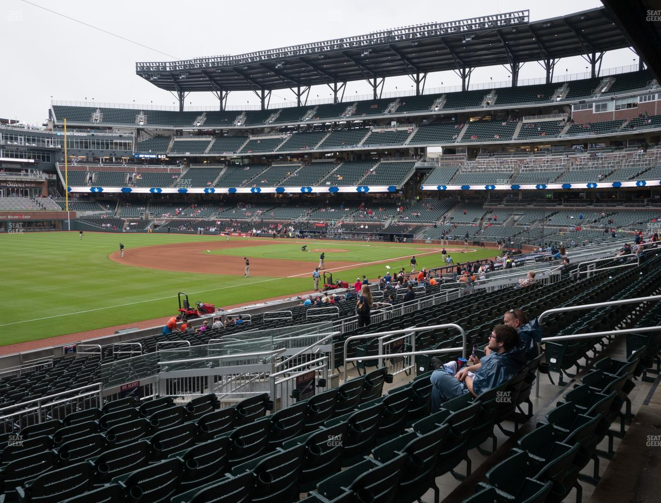 Atlanta Braves at SunTrust Park Section 141 View