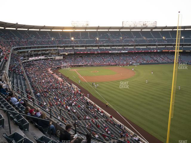 Angel Stadium of Anaheim Section 433 view