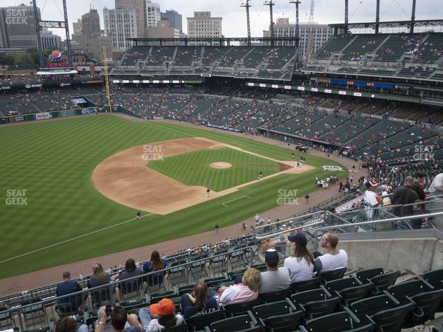 Comerica Park Section 338 view