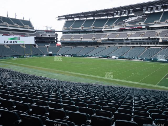 Lincoln Financial Field Section 123 view