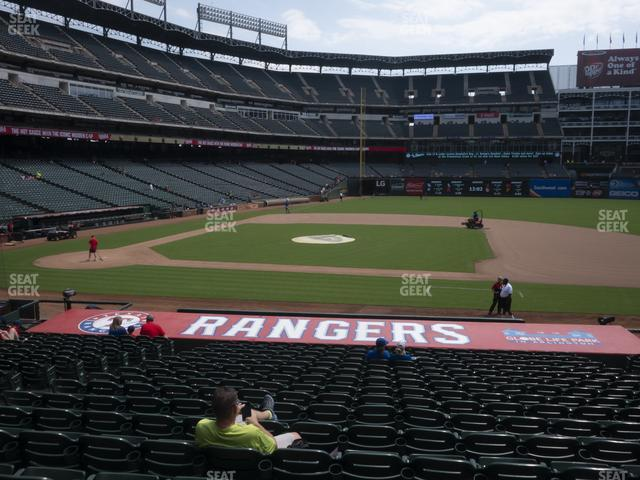 Globe Life Park Section 33 view