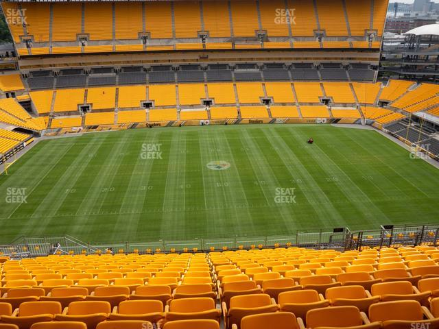 Heinz Field Section 534 view