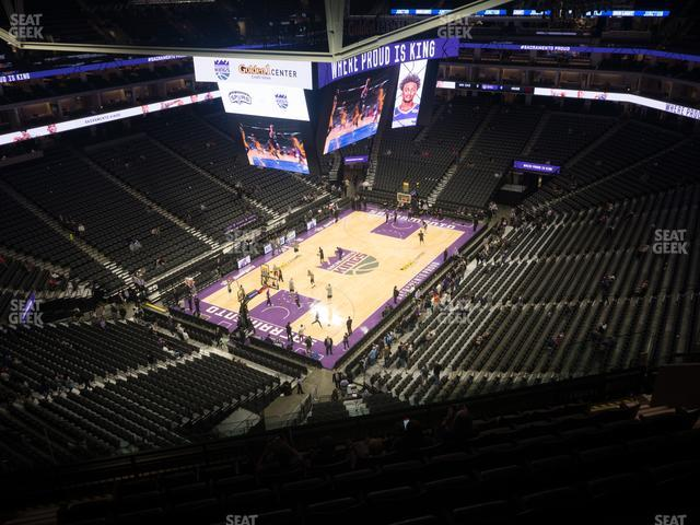 Golden 1 Center Section 222 view