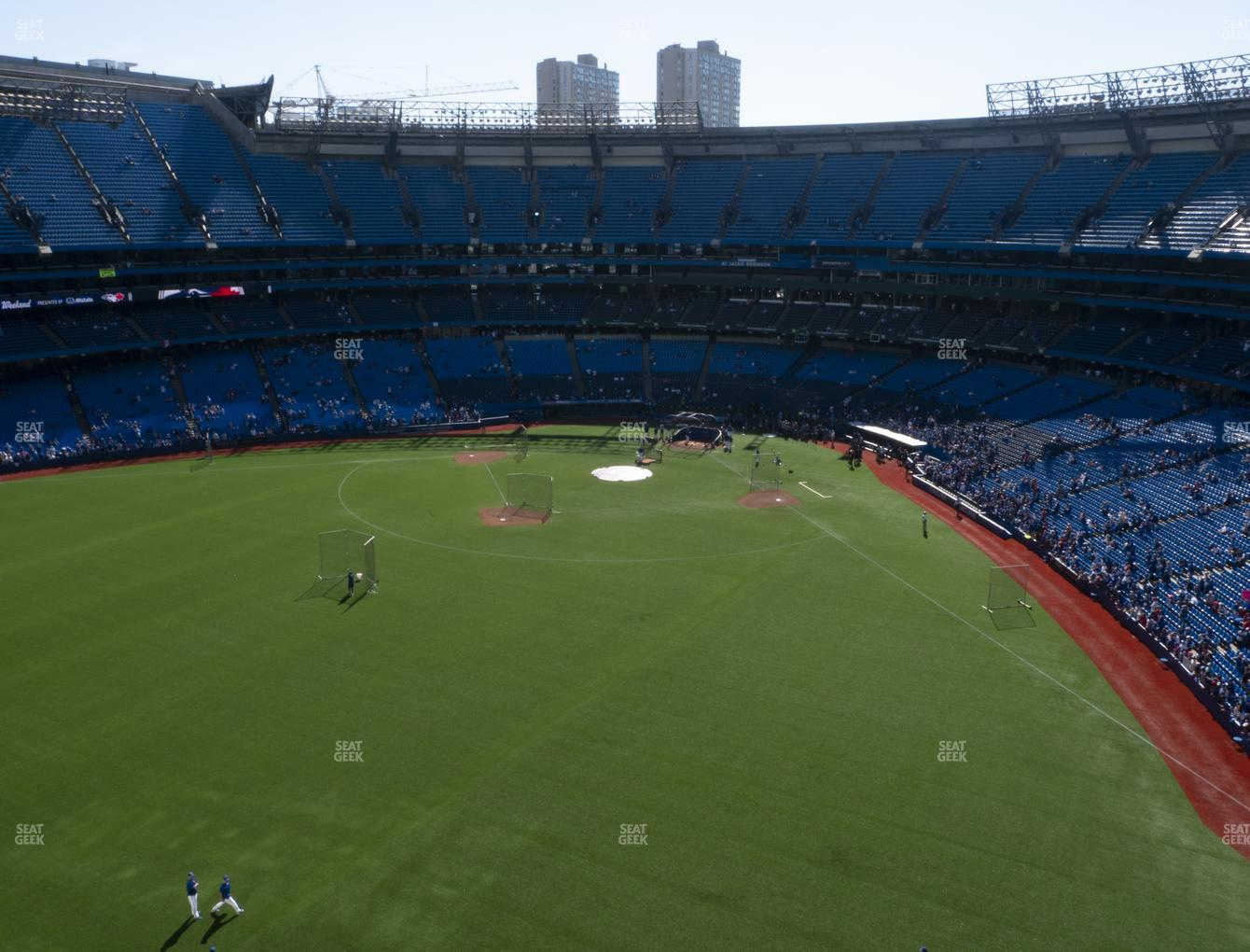 Toronto Blue Jays at Rogers Centre Section 543 R View