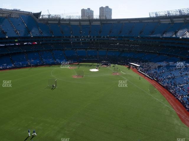 Rogers Centre Section 543 R view