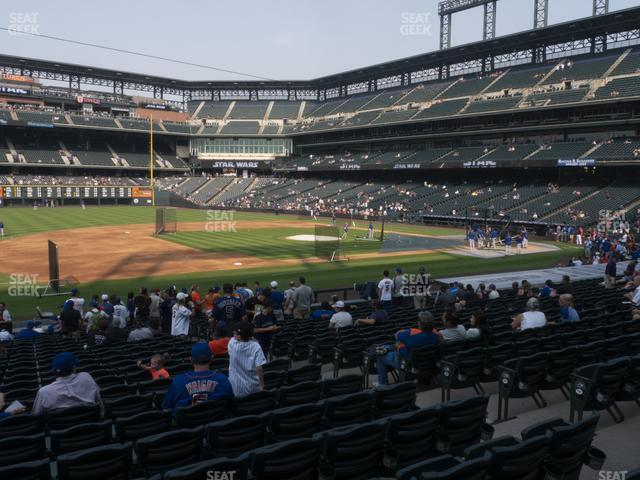 Coors Field Section 141 view