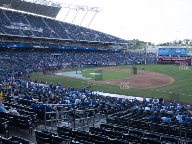 Kauffman Stadium Section 239 view