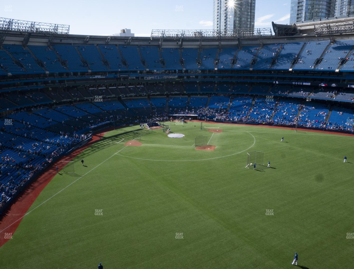 Toronto Blue Jays at Rogers Centre Section 505 R View