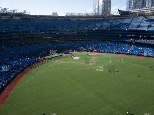 Rogers Centre Section 505 R view