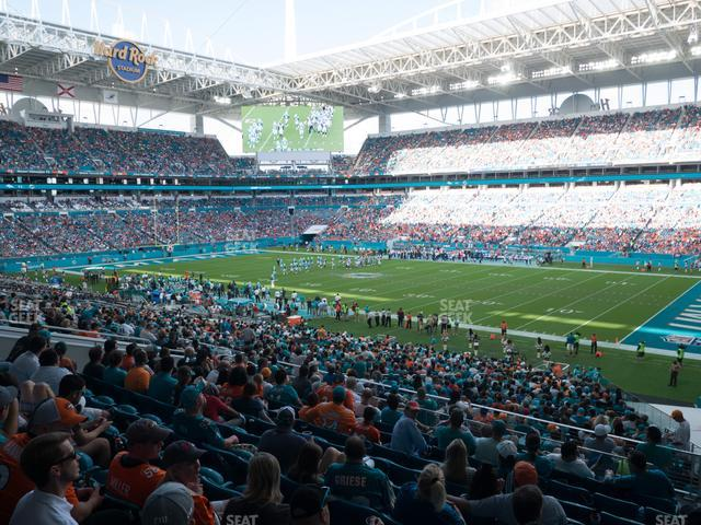 Hard Rock Stadium Section 241 view