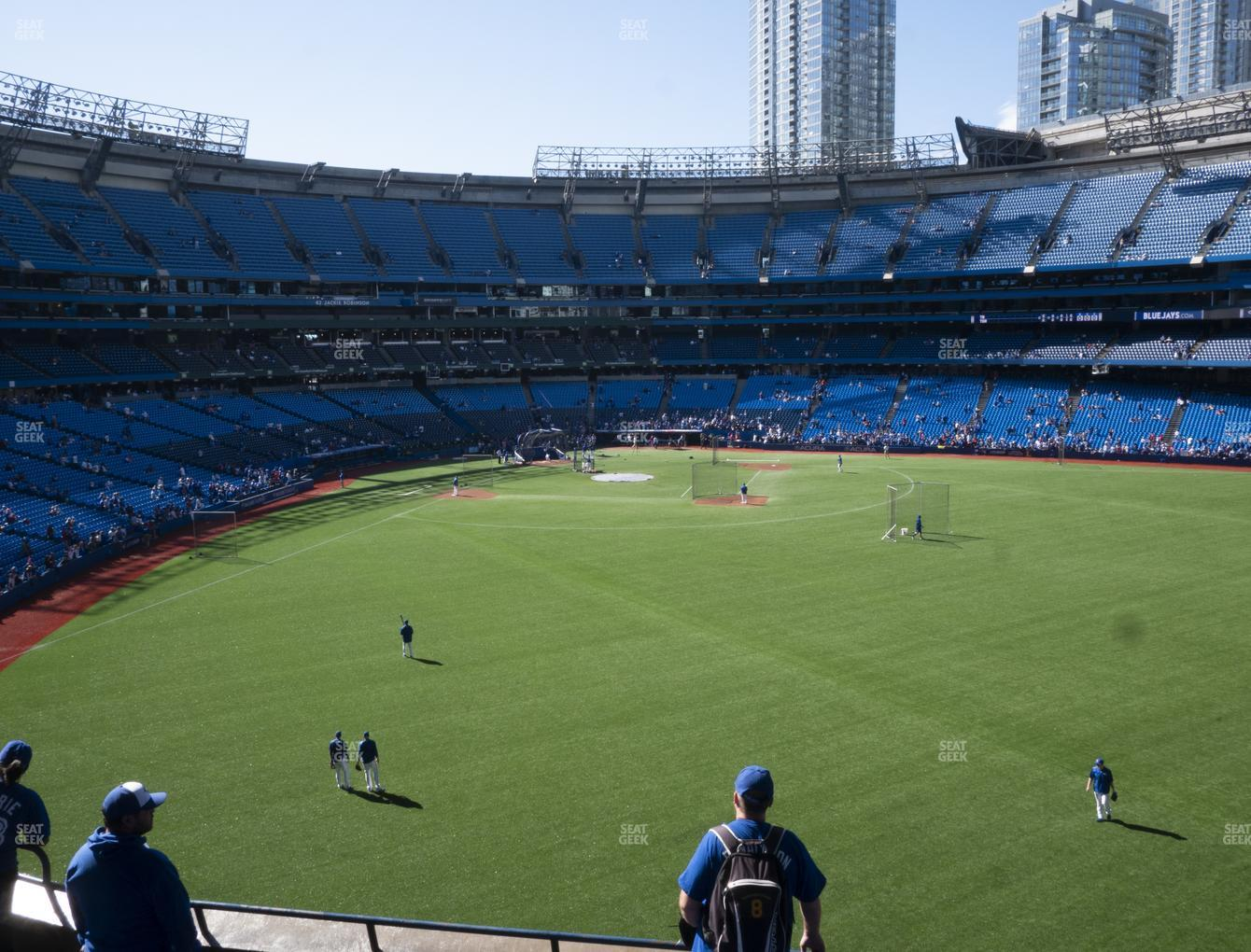 Toronto Blue Jays at Rogers Centre Section 205 R View