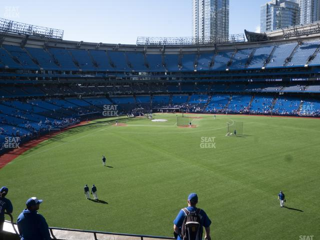 Rogers Centre Section 205 R view