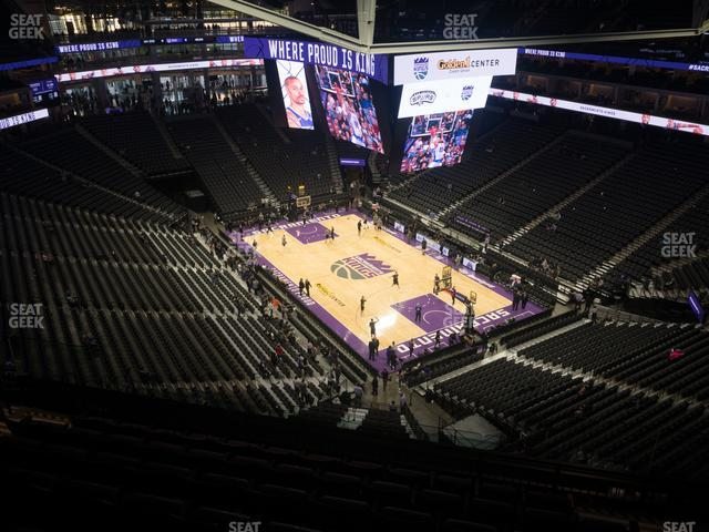 Golden 1 Center Section 214 view